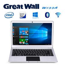 "Great Wall W1333A 13.3"" Tablet PC Windows10 2.4GHz 4GB+64GB WIFI BT LAN Notebook"