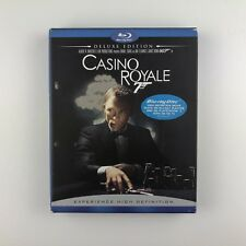 Casino Royale - Deluxe Edition (Blu-ray, 2008, 2-Disc Set) d
