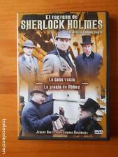 DVD EL REGRESO DE SHERLOCK HOLMES - LA CASA VACIA - LA GRANJA DE ABBEY (X5)