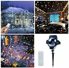 New Led Snowfall Outdoor Christmas Lights Displays Projector Waterproof Remote