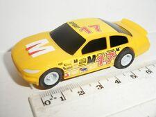 Micro Scalextric-Stock Car Giallo #17 - Nuovo di zecca CDN