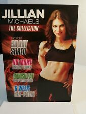 Jillian Michaels Collection DVD, 4 Disc Set Fitness🌟Workout at home🌟👀📀🌟