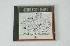 """Mel Torme & George Shearing - Mel & George """"do"""" World War II, CD (35)"""