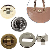 Rectangle Shape Bag Clasp Closure Twist Turn Lock Buckle with Screw DIY Purses