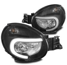 For 02-03 Subaru Impreza Outback RS TS WRX LED Headlights Headlamps Lamps Black