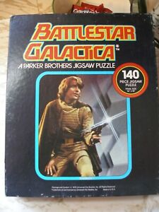 1978 Vintage Original Battlestar Galactica 140 Piece Jigsaw Puzzle MIB-Unused