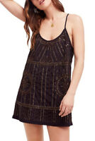 Free People Womens Sedona F17Y69003 Dress Relaxed Black Size S