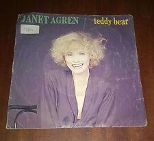 "Janet Agren 45 Giri "" TEDDY BEAR "" Blond"