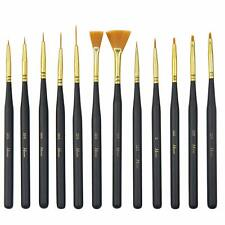 Detail Paint Brushes Set Artist Paint Brushes Painting Supplies for Art Painting