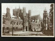 Vintage Postcard - Cambridgeshire #6 - RP St John's College Gate
