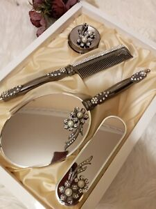 Mirror, brush and mirror set, mirror and comb set,bosses day gift, makeup mirror