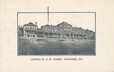 PITTSBURGH PA – Hawkins Ladies G.A.R. Home – 1916