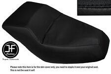 BLACK AUTOMOTIVE VINYL CUSTOM FITS HONDA HELIX CN 250 DUAL SEAT COVER ONLY