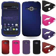 For ZTE Concord 2 II Snap On Hard Rubberized Plastic Matte Phone Cover Case