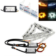Car Flexible Switchback LED Light Headlight Sequential Flasher DRL Turn Signal