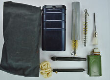 East German 7.62x39 Rifle  RG-57 Tin Can Cleaning Kit W/Canvas Pouch SKS 7.62x51