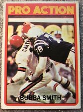 1972 Topps Football #127  Bubba Smith Colts Pro Action (EC184)