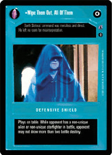 Wipe Them Out, All Of Them [Near Mint] REFLECTIONS III star wars ccg