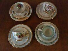 Sammeltassen-Sammelgedecke-Konvolut-4 Stück-verschiedene Marken-Porzellan
