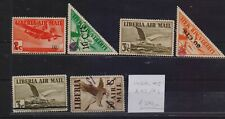 ! Liberia 1944-1945.  Air Mail  Stamp. YT#A43/46 . €370.00 !