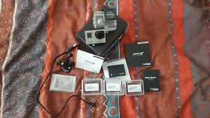 Gopro Hero 3+ silver with bacpac battery