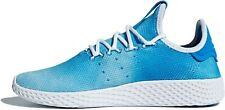 ADIDAS (GS) PHARRELL WILLIAMS PW TENNIS HU CQ2300 Blue/White Boys/Girls Women's