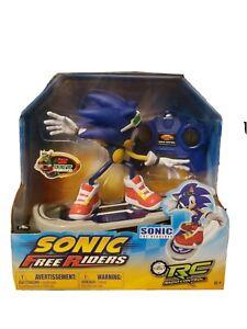 Sonic The Hedgehog Free Riders RC Radio Remote Control Toy Skateboard Racing NIB