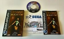 TOMB RAIDER for SEGA SATURN 'RARE AND HARD TO FIND'