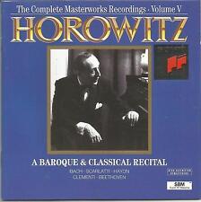 Vladimir Horowitz ~ The Complete Masterworks Recordings Vol. 5