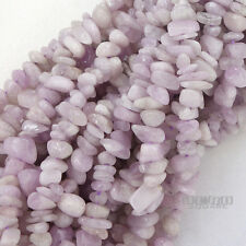 """15.5"""" Natural Lavender Pink Kunzite Free Form Nugget Chip Beads a.6-8mm+ #11261"""