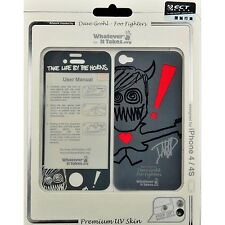 Whatever It Takes Foo Fighters Premium UV Protective Skin for iPhone 4 / 4S