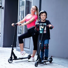 MEGAWHEELS Electric Scooter, Easy Fold-n-Carry Design, Ultra-Lightweight(BLACK)