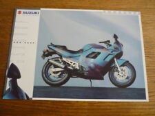 SUZUKI GSX 600F MOTORBIKE BROCHURE, 1995 POST FREE (UK)