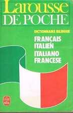 Dictionnaire Francais Italien  livre de poche