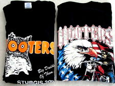 18 = 8 XXL 10 XL OOP Hooters Uniform T-Shirt from all harley bike Show STURGIS