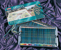 Derwent Artists Pencils 72 Colour Tin