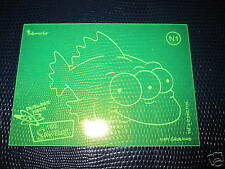 SIMPSONS ANNIVERSARY CELEBRATION N1 NUCLEAR NEON ULTRA RARE MINT CARD