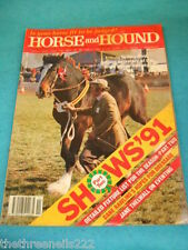 HORSE and HOUND - JANE THELWALL ON EVENTING - MARCH 14 1991