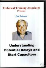 Understanding Potential Relays and Start Capacitors