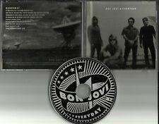 BON JOVI Everyday w/ RARE ROCK MIX PROMO Radio DJ CD Single USA 2002 ISLR 15651