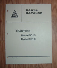 ALLIS CHALMERS 5015 TRACTOR PARTS CATALOG MANUAL