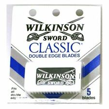 Wilkinson Sword Classic Double Edge Blades 5 ea, Total of 100 blades