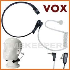 Garganta Mic Auricular Headset Motorola único Pin 2,5 mm tlkr T5 T6 T7 T8 Xtr 446