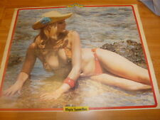 VINTAGE RARE GREEK MARIA IOANIDOU GREAT POSTER FROM FANTAZIO MAGAZINE 70s