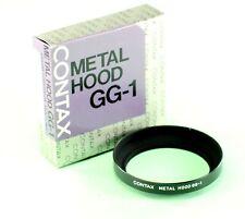 Contax G Lens Shade GG-1, Metal, Screw-in, in original box