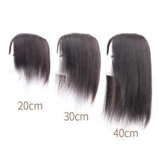 Women Handmade Mono&Pu Clip in Human Hair Topper Hairpiece Replacement