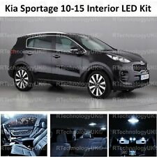 PREMIUM KIA SPORTAGE 3 SL 2010-2015 INTERIOR FULL WHITE LED BULBS LIGHT KIT SET
