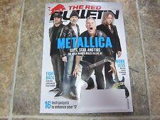 Feb / Mar 2017 The Red Bulletin, Metallica Cover Magazine