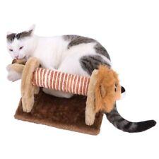 New - Kitten Cat Scratcher Scratching Post Lion Activity Novelty Toy