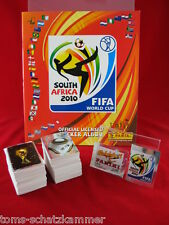 Panini coupe du monde 2010 jeu complet + album en interne. = tous les autocollants Leeralbum wc 10